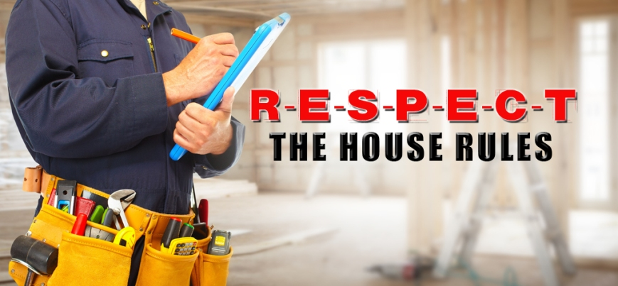 How to be a Respectful Residential Contractor
